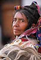 "Portrait of a Ladakhi woman, Matho, Ladakh<br /> Available as Fine Art Print in the following sizes:<br /> 08""x12""US$   100.00<br /> 10""x15""US$ 150.00<br /> 12""x18""US$ 200.00<br /> 16""x24""US$ 300.00<br /> 20""x30""US$ 500.00"
