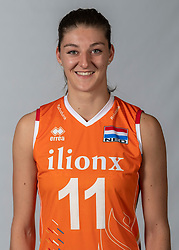 10-05-2018 NED: Team shoot Dutch volleyball team women, Arnhem<br /> Anne Buijs #11 of Netherlands