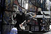 NO FEE PICTURES                                                                                                                                                8/6/19  Ghost playing support at Metallica's sold out concert, with 75,000 fans at Slane Castle in Co Meath. Picture: Arthur Carron