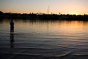 Ibiai_MG, Brasil...Rio Sao Francisco, o rio da integracao nacional. ..The Sao Francisco river, It is an important river for Brazil, called the river of national integration...Foto: LEO DRUMOND / NITRO