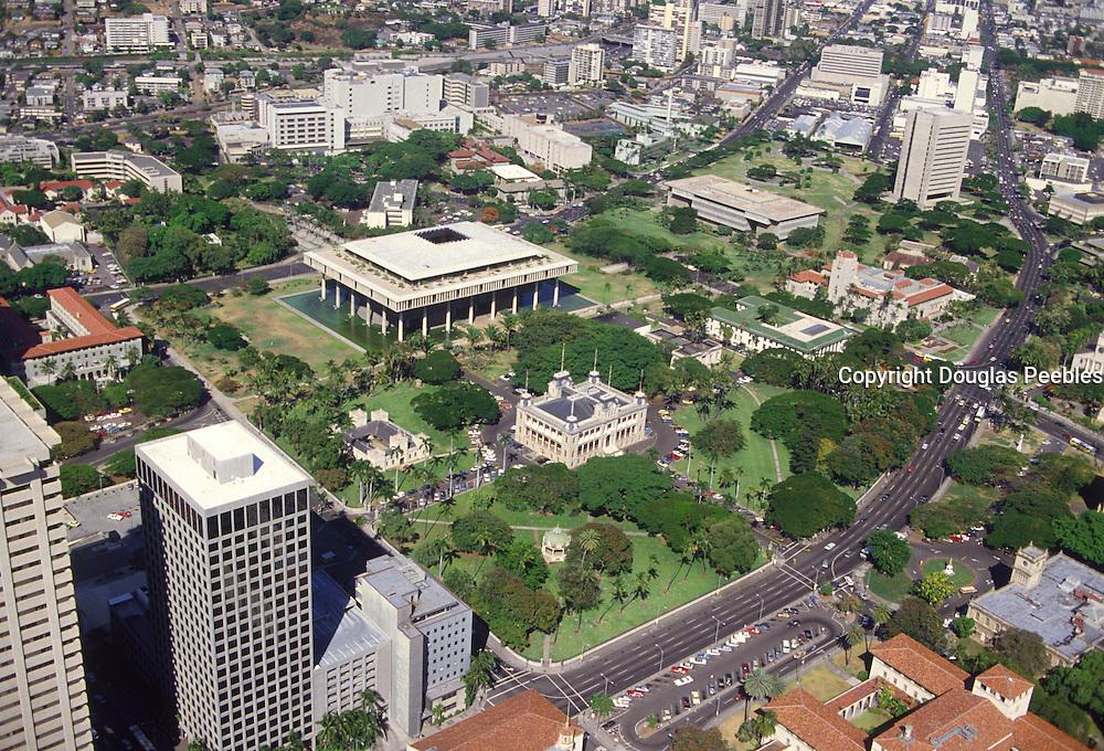 Capitol Building, Honolulu, Oahu, Hawaii<br />