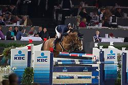 Wathelet Gregory (BEL) - Kronos D'Ouilly<br /> Studbook Zangersheide Price <br /> CSI-W Mechelen 2011<br /> © Dirk Caremans