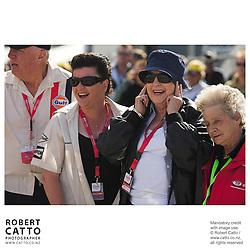 Amanda McLaren;Pat McLaren at the A1 Grand Prix of New Zealand at the Taupo Motorsport Park, Taupo, New Zealand.