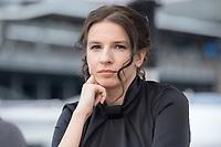 18 JUN 2020, BERLIN/GERMANY:<br /> Marina Weisband, Publizistin, Redaktionsschiff ThePioneer ONE auf der Spree<br /> IMAGE: 20200618-03-023