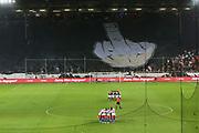 Fuusball: 2. Bundesliga, FC St. Pauli - Hamburger SV 2:0, Hamburg, 16.09.2019<br /> Choreographie: St. Pauli-Fans, Teams<br /> © Torsten Helmke