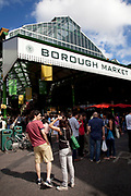 Borough Market is a thriving Farmers market near London Bridge. Saturday is the busiest day.
