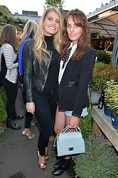 Left to right, LADY KITTY SPENCER and LADY VIOLET MANNERS at a party to celebrate the launch of the Taylor Morris Eyewear's Summer Collection held at The Chelsea Gardner, 125 Sydney Street, London on 20th May 2015.