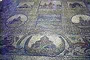 Mosaic floor at the Church of the Holy Sepulchre, in the Christian quarters, Jerusalem, Israel