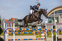 Van Erp Jarno, NED, Jacquet-Go<br /> Nationaal Kampioenschap KWPN<br /> 6 jarigen springen final<br /> Stal Tops - Valkenswaard 2020<br /> © Hippo Foto - Dirk Caremans<br /> 19/08/2020