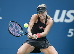 September 1, 2018 - Flushing Meadows, New York, U.S - Angelique Kerber during her match against Dominika Cibulkova on Day 6 of the 2018 US Open at USTA Billie Jean King National Tennis Center on Saturday September 1, 2018 in the Flushing neighborhood of the Queens borough of New York City. Kerber defeats Cibulkova 3-6, 6-3, 6-3. (Credit Image: © Prensa Internacional via ZUMA Wire)