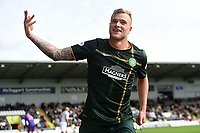 27/09/14 SCOTTISH PREMIERSHIP<br /> ST MIRREN v CELTIC <br /> ST MIRREN PARK - PAISLEY<br /> Celtic ace John Guidetti celebrates having put his side back in the lead