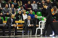 TJ PARKER / Nordine GHRIB / J.D JACKSON  - 29.12.2014 - Lyon Villeurbanne / Le Havre - 16e journee Pro A<br />Photo : Jean Paul Thomas / Icon Sport