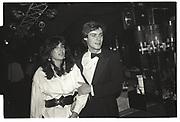 GHISLAINE MAXWELL, DAVID FABER, ANNABELS, LONDON, 1984