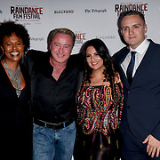 Michael Flatley and casts attend Blackbird - World Premiere with Michael Flatley at May Fair Hotel, London, UK. 28th September 2018.