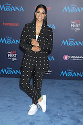 November 14, 2016 - Los Angeles, California, United States - November 14th 2016 - Los Angeles California USA -   Actress LILLY SINGH at  the Disney World Premiere ''Moana''  held at the El Capitan Theater, Hollywood,  CA (Credit Image: © Paul Fenton via ZUMA Wire)