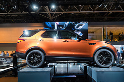 new Land Rover Discovery at Paris Motor Show 2016