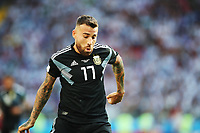 Football - 2018 FIFA World Cup - Group D: Argentina vs. Iceland<br /> <br /> Nicolas Otamendi of Argentina is seen at Spartak Stadium (Otkritie Arena), Moscow.<br /> <br /> COLORSPORT/IAN MACNICOL