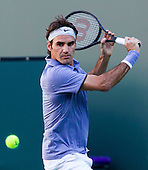 Tennis: BNP Paribas Open 2014 Roger Federer vs Paul-Henri Mathieu