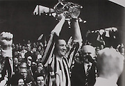 Nicky Orr with the McCarthy Cup in 1974.