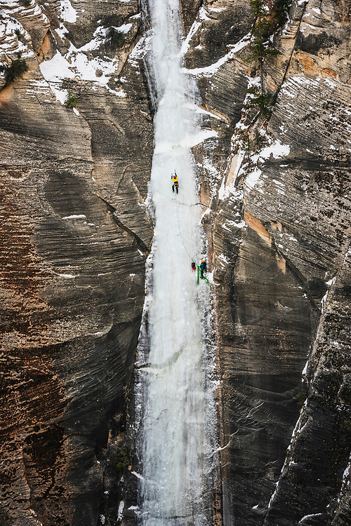 Jason Hall takes a spin on Bo Beck, WI4, Zion National Park.