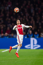 10-04-2019 NED: Champions League AFC Ajax - Juventus,  Amsterdam<br /> Round of 8, 1st leg / Ajax plays the first match 1-1 against Juventus during the UEFA Champions League first leg quarter-final football match / Nicolas Tagliafico #31 of Ajax