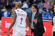 DESCRIZIONE : Pesaro Edison All Star Game 2012<br /> GIOCATORE : Andrea Trinchieri Richard Hickman<br /> CATEGORIA : coach<br /> SQUADRA :  All Star Team<br /> EVENTO : All Star Game 2012<br /> GARA : Italia All Star Team<br /> DATA : 11/03/2012 <br /> SPORT : Pallacanestro<br /> AUTORE : Agenzia Ciamillo-Castoria/C.De Massis<br /> Galleria : FIP Nazionali 2012<br /> Fotonotizia : Pesaro Edison All Star Game 2012<br /> Predefinita :