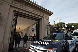 June 22, 2017 - Buenos Aires, Buenos Aires, Argentina - After a complaint for money laundering and tax evasion carried out by the AFIP, the economic criminal judge Galván Greenway ordered a raid on the Hipódromo de Palermo. It is for a money laundering investigation where the entrepreneur Cristobal Lopez is involved. (Credit Image: © Claudio Santisteban via ZUMA Wire)