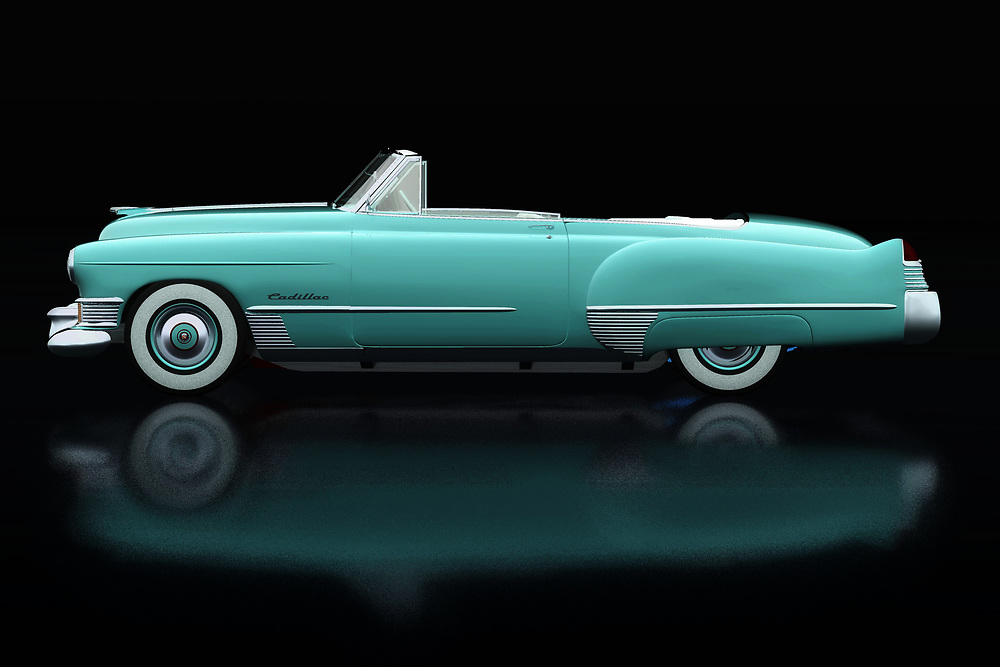 Cadillac is the most prestigious car brand in the United States. The Cadillac Deville, depicted here in cabiolet version, was very popular with people who wanted to radiate class and style. The Cadillac Deville is often seen in films where rich people always drive around in a Cadillac. -<br /> BUY THIS PRINT AT<br /> <br /> FINE ART AMERICA<br /> ENGLISH<br /> https://janke.pixels.com/featured/cadillac-deville-1948-lateral-view-jan-keteleer.html<br /> <br /> WADM / OH MY PRINTS<br /> DUTCH / FRENCH / GERMAN<br /> https://www.werkaandemuur.nl/nl/shopwerk/Cadillac-Deville-1948-Zijaanzicht/737025/132?mediumId=11&size=75x50<br /> <br /> -