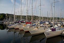Silvers Marine Scottish Series 2017<br /> Tarbert Loch Fyne - Sailing Day 2<br /> <br /> Sigma 33 fleet in Tarbert Harbour