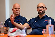 20190514 NED: Press moment national volleyball team Women, Arnhem
