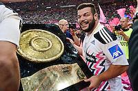 Rabah SLIMANI  - 13.06.2015 - Clermont / Stade Francais - Finale Top 14<br />Photo : Nolwenn Le Gouic / Icon Sport