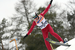 Vitaliy Shumbarets (UKR) at Flying Hill Individual in 2nd day of 32nd World Cup Competition of FIS World Cup Ski Jumping Final in Planica, Slovenia, on March 20, 2009. (Photo by Vid Ponikvar / Sportida)