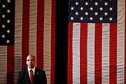 May 16, 2016 - Bowling Green, Kentucky, USA: Hillary Clinton supporters listen during Clinton's campaign rally at La Gala. (Jeremy Hogan/Polaris)