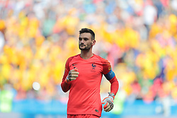 June 16, 2018 - Kazan, Kazan, France - goalkeeper Hugo Lloris of France National team during a  Group C 2018 FIFA World Cup soccer match between France and Australia on June 16, 2018, at the Kazan Arena in Kazan, Russia. (Credit Image: © Anatolij Medved/NurPhoto via ZUMA Press)