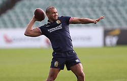 British & Irish Lions Jonathan Joseph during the training session at the QBE Stadium, Auckland.