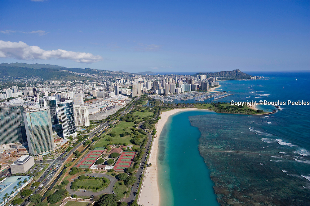 Ala Moana Beach Park, Waikiki, Honolulu, Hawaii