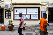 The Freddie Mercury museum, Stone Town, Zanzibar. The first-ever museum dedicated to the world legend Freddie Mercury, located in Shangani,in the heart of Zanzibar Stone Town was officially opened on Sunday the 24th of November 2019 to commemorate the 28th anniversary of the passing of the beloved rock music legend Freddie Mercury. (photo by Andrew Aitchison / In pictures via Getty Images)