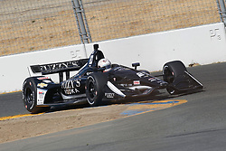 September 14, 2018 - Sonoma, CA, U.S. - SONOMA, CA - SEPTEMBER 14: Takuma Sato is seen during the afternoon Verizon IndyCar Series practice for the Grand Prix of Sonoma on September 14, 2018, at Sonoma Raceway in Sonoma, CA. (Photo by Larry Placido/Icon Sportswire) (Credit Image: © Larry Placido/Icon SMI via ZUMA Press)