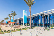 Great Park Ice Rink and Fivepoint Arena at the Orange cCounty Great Park in Irvine