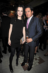 NATALIE THEO and MARCUS VANNINI at a party to celebrate the launch of Atelier-Mayer.com held at 83 Princedale Road, London W11 on 15th January 2009.
