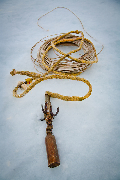Iñupiaq whaling tools, Point Hope, Alaska