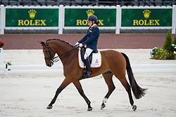 Sanne Voets, (NED), Vedet Pb - Team Competition Grade III Para Dressage - Alltech FEI World Equestrian Games™ 2014 - Normandy, France.<br /> © Hippo Foto Team - Jon Stroud <br /> 25/06/14