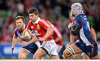 25 June 2013; Ben Youngs, British & Irish Lions, on his way to scoring his side's fifth try. British & Irish Lions Tour 2013, Melbourne Rebels v British & Irish Lions. AAMI Park, Olympic Boulevard, Melbourne, Australia. Picture credit: Stephen McCarthy / SPORTSFILE