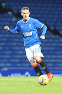 Steven Davis (Rangers) during the Scottish Premiership match between Rangers and Livingston at Ibrox, Glasgow, Scotland on 25 October 2020.