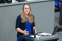 13 FEB 2020, BERLIN/GERMANY:<br /> Katharina Droege, MdB, B90/Gruene, Sitzung des Deutsche Bundestages, Plenum, Reichstagsgebaeude<br /> IMAGE: 20200213-01-040<br /> KEYWORDS: Katharina Dröge
