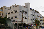 Bauhaus Architecture at 19 Gordon Street, Tel Aviv. The White City refers to a collection of over 4,000 buildings built in the Bauhaus or International Style in Tel Aviv from the 1930s by German Jewish architects who emigrated to the British Mandate of Palestine after the rise of the Nazis. Tel Aviv has the largest number of buildings in the Bauhaus/International Style of any city in the world. Preservation, documentation, and exhibitions have brought attention to Tel Aviv's collection of 1930s architecture.