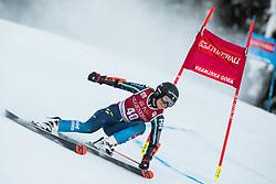 Sara Rask (SWE) during the Ladies' Giant Slalom at 57th Golden Fox event at Audi FIS Ski World Cup 2020/21, on January 16, 2021 in Podkoren, Kranjska Gora, Slovenia. Photo by Vid Ponikvar