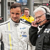 Tonio Liuzzi, ByKolles Racing, at the WEC 6 Hours of Spa-Francorchamps 2015