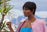 Damaris Lewis at the Blackkklansman (Black Klansman)  film photo call at the 71st Cannes Film Festival, Tuesday 15th May 2018, Cannes, France. Photo credit: Doreen Kennedy