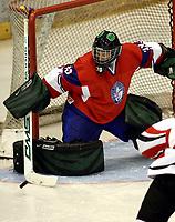 Ishockey<br /> VM for kvinner<br /> Graz Østerrike <br /> Norge<br /> Foto: Gepa/Digitalsport<br /> NORWAY ONLY<br /> <br /> 09.04.2009<br /> <br /> IIHF Damen Eishockey Weltmeisterschaft, Divison 1, NOR vs AUT. Bild zeigt Jorid Dagfinrud Øiestad (NOR)